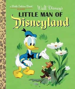 Little Man of Disneyland - Random House Disney - cover