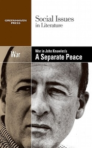 Libro in inglese War in John Knowles's a Separate Peace