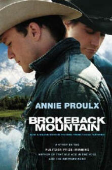 Brokeback Mountain: Now a Major Motion Picture - Annie Proulx - cover