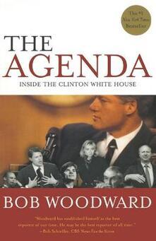 Agenda: Inside the Clinton White House (Reissue) - Bob Woodward - cover