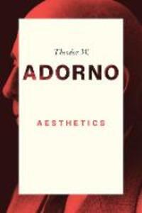 Aesthetics - Theodor W. Adorno - cover