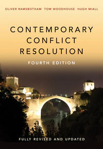 Contemporary Conflict Resolution - Oliver Ramsbotham,Tom Woodhouse,Hugh Miall - cover