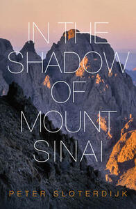 In The Shadow of Mount Sinai - Peter Sloterdijk - cover