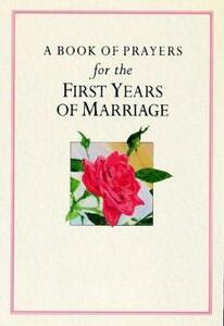 A Book of Prayers for the First Years of Marriage - Sue Pontefract - cover