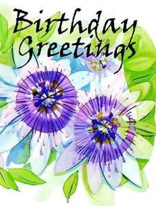 Birthday Greetings - Olivia Warburton - cover