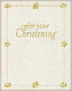 For Your Christening - cover