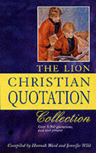 The Lion Christian Quotation Collection - Hannah Ward,Jennifer Wild - cover