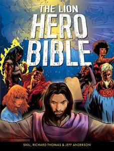 The Lion Hero Bible - Jeff Anderson,Siku - cover