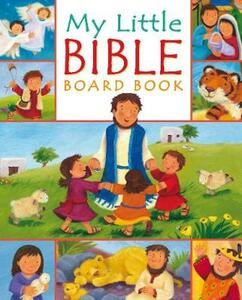 My Little Bible board book - Christina Goodings - cover