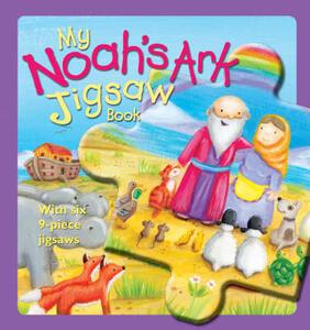 My Noah's Ark Jigsaw Book - Christina Goodings - cover