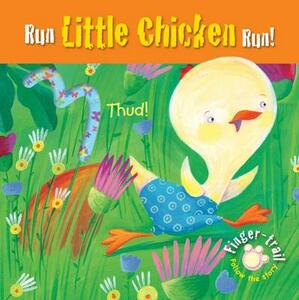 Run Little Chicken Run! - Elena Pasquali - cover