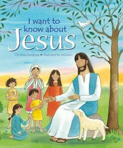I want to know about Jesus - cover