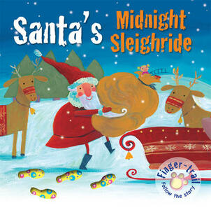 Santa's Midnight Sleighride - Elena Pasquali - cover