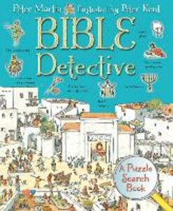 Bible Detective: A Puzzle Search Book - Peter Martin - cover