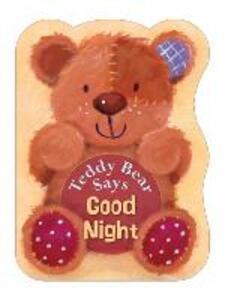 Teddy Bear Says Good Night - Suzy Senior - cover