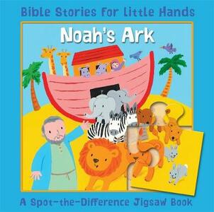 Noah's Ark: A Spot-the-Difference Jigsaw Book - Lois Rock - cover