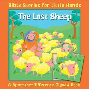 The Lost Sheep: A Spot-the-Difference Jigsaw Book - Lois Rock - cover