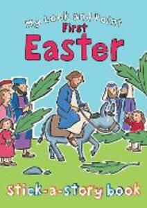 My Look and Point First Easter Stick-a-Story Book - Christina Goodings - cover