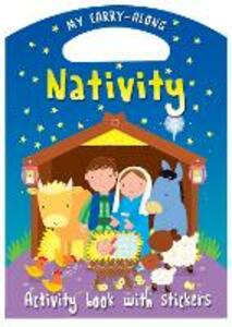 My Carry-along Nativity: Activity book with stickers - Christina Goodings - cover