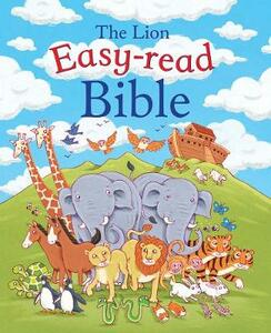 The Lion easy-read Bible - Christina Goodings - cover