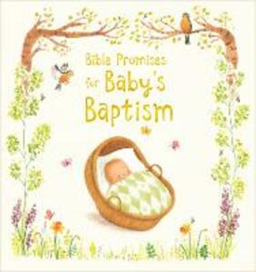 Bible Promises for Baby's Baptism - Sophie Piper - cover