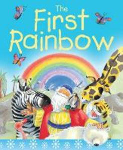 The First Rainbow Sparkle and Squidge: The story of Noah's ark - Su Box - cover