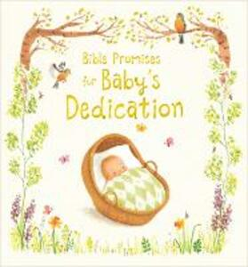 Bible Promises for Baby's Dedication - Sophie Piper - cover