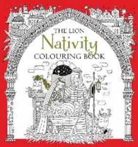 The Lion Nativity Colouring Book - Antonia Jackson - cover
