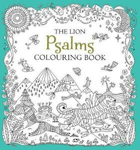 The Lion Psalms Colouring Book - cover