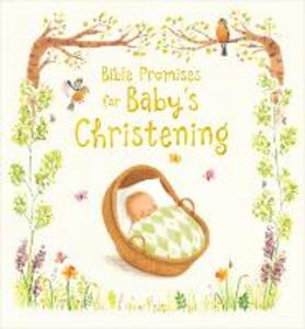 Bible Promises for Baby's Christening - Sophie Piper - cover