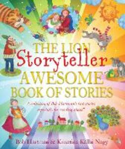 The Lion Storyteller Awesome Book of Stories - Bob Hartman - cover