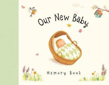 Our New Baby Memory Book - cover