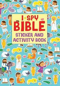 I Spy Bible Sticker and Activity Book - Julia Stone - cover