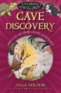 Cave Discovery: When did we start asking questions? - Julia Golding - cover