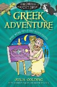 Greek Adventure: Who were the first scientists? - Julia Golding - cover
