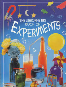 The Usborne Big Book of Experiments - Alastair Smith - cover