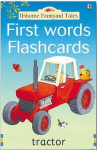 Farmyard Tales First Words Flashcards - cover