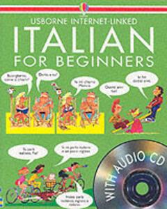 Italian For Beginners - Usborne - cover