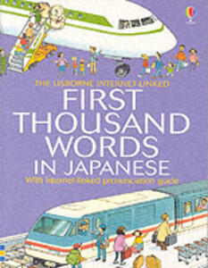 First 1000 Words: Japanese - cover
