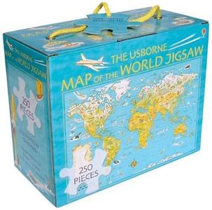 Map of the World Boxed Jigsaw - cover