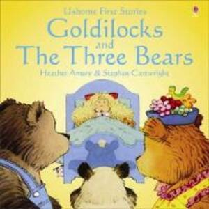 Usborne Fairytale Sticker Stories Goldilocks And The Three Bears - cover