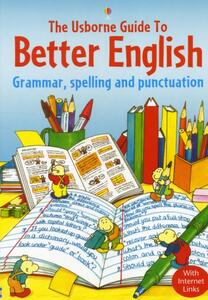 The Usborne Guide to Better English With Internet Links - cover