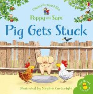 Pig Gets Stuck Sticker Book - cover