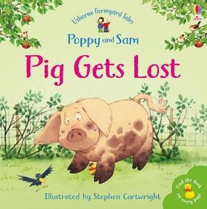 Pig Gets Lost - Heather Amery - cover
