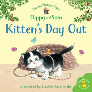 Kitten's Day Out Sticker Storybook - Stephen Cartwright - cover
