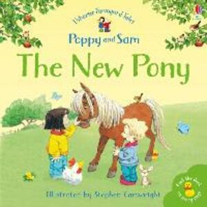 The New Pony - Heather Amery - cover