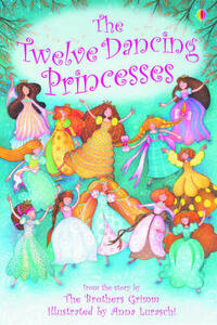 The Twelve Dancing Princesses - Emma Helbrough - cover