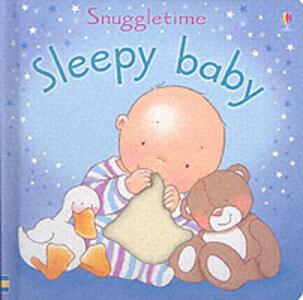 Sleepy Baby - Fiona Watt,Catherine MacKinnon - cover