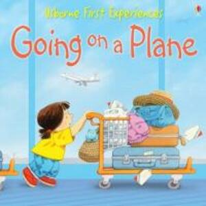 Usborne First Experiences Going On A Plane - cover