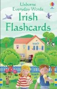 Everyday Words: Irish Flashcards - Felicity Brooks - cover